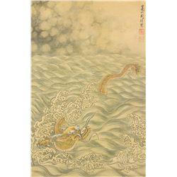Zhou Xun 1649-1729 Chinese Watercolour on Paper
