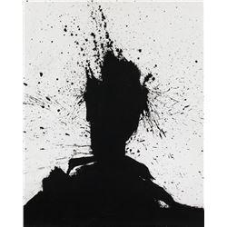 Richard Hambleton American Oil on Canvas Signed