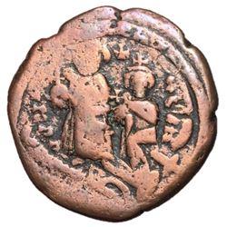 Herclius with Heraclius Constantine 610-641 AD