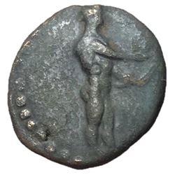 Ionia Miletos 200 BC AE Hemiobol Rare