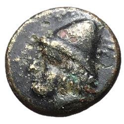 Troas Birytis 4th Century BC AE12 Kaibeiros