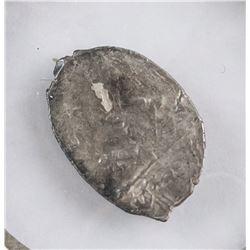 1629-1675 Russian Alexei Silver Kopeck Coin