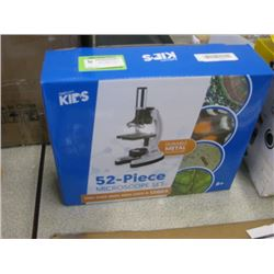 AM SCOPE KIDS 52 PIECE MICROSCOPE SET