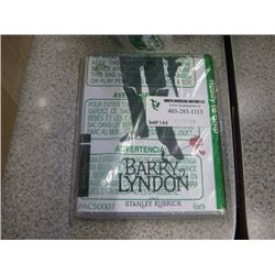 BARRY LYNDON BLU RAY