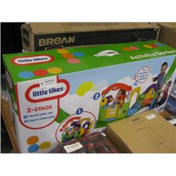LITTLE TIKES 2 STAGE PLAY SET