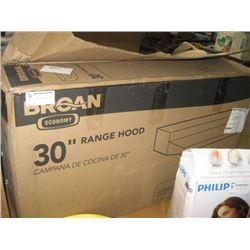 "BROAN 30"" RANGE HOOD"