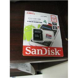 SAN DISK ULTRA 200GB