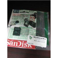 SAN DISK 64GB