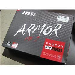 MSI GRAPHICS CARD RADEON RX 570