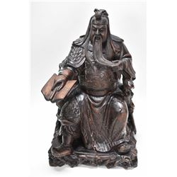 """Antique ironwood Chinese scholar, 15"""" in height in age appropriate condition"""