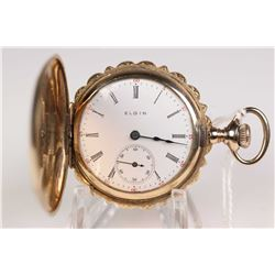 "Elgin size ""0"", 7 jewel pocket watch, grade 320 model 2. Serial #12270466 dates this watch to 1906."