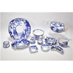 """Selection of Royal Crown Derby """"Mikado"""" including teapot, lidded sugar and cream jug, bowl, assorted"""