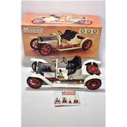 English Mamod Steam Roadster, with original box in as new condition