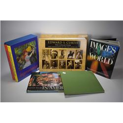Selection of coffee table books including Impressionism 1 & 2, Ernst Haas In America, Horses of the