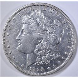 1892-O MORGAN DOLLAR, AU