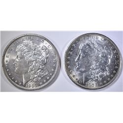1902-O & 1903 CH BU MORGAN DOLLARS