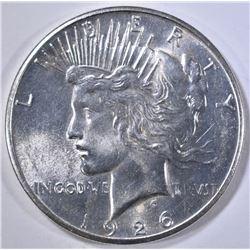 1926-S PEACE DOLLAR GEM BU