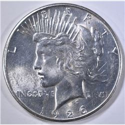 1926-S PEACE DOLLAR GEM BU