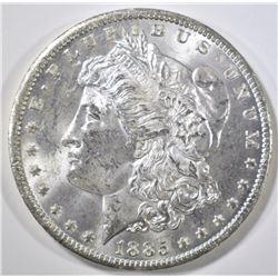 1885-O MORGAN DOLLAR, CH BU