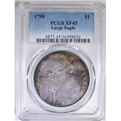 1798 BUST DOLLAR  PCGS  XF-45