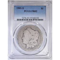 1901-S MORGAN DOLLAR  PCGS  FR-2