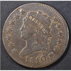 1810 LARGE CENT  FINE