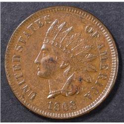 1868 INDIAN CENT   AU