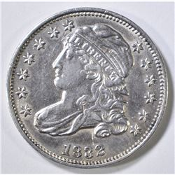 1832 BUST DIME  AU