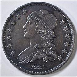 1831 BUST QUARTER  CH BU