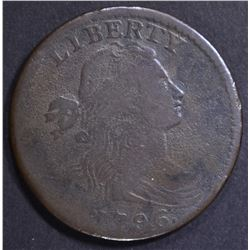 1796 LARGE CENT  VF