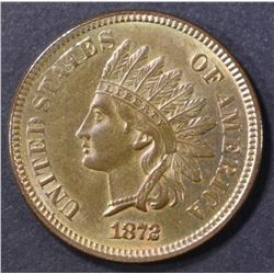 1872 INDIAN CENT  CH/GEM UNC