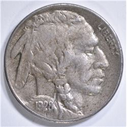 1928-S BUFFALO NICKEL  AU/UNC