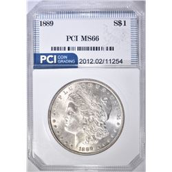 1889 MORGAN DOLLAR  PCI SUPERB GEM