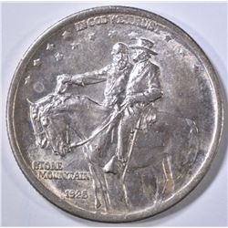 1925 STONE MOUNTAIN COMMEM HALF DOLLAR  GEM BU