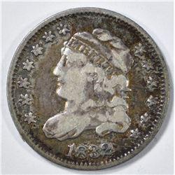 1832 BUST HALF DIME VF