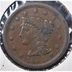 1850  LARGE CENT, VF/XF