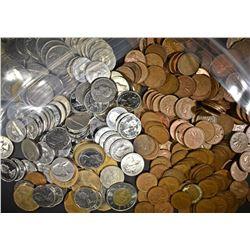 OVER $60 FACE VALUE NON SILVER CANADIAN COINS