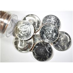 BU KENNEDY HALF DOLLAR ROLL LOT:
