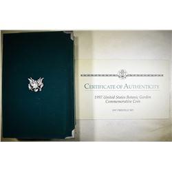 1997 U.S. MINT PRESTIGE PROOF SET