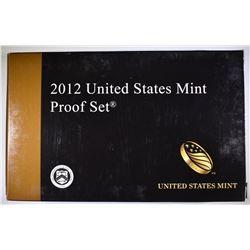 2012 U.S. PROOF SET ORIG PACKAGING