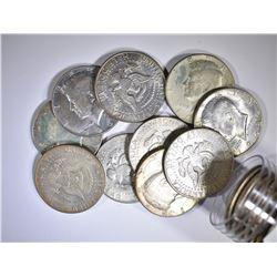 $10.00 FACE VALUE 40% SILVER HALF DOLLARS