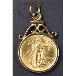 1/10th OUNCE GOLD EAGLE IN 14kt BEZEL