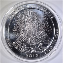 2012 HAWAII VOLCANOES 5-Oz SILVER NP QUARTER