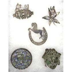 Collection of Vintage Taxco Jewelry
