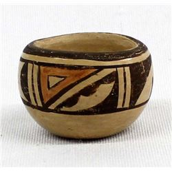 Vintage Hopi Miniature Pottery Bowl, A. Nampeyo