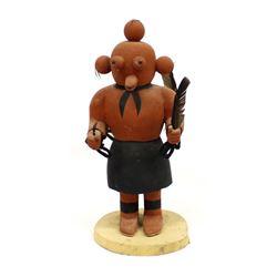 Hopi Double Sided Mudhead Kachina