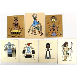 Native American Cards & Prints by Blue Eagle