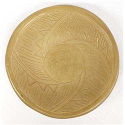 San Juan Micaceous Clay Pottery Shallow Bowl