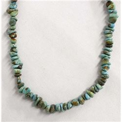 Vintage Navajo Turquoise Nugget Necklace
