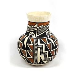 Vintage Acoma Pottery Vase by C. Lowden